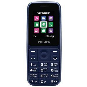 Мобильный телефон Philips Xenium E125 (синий)
