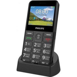 Мобильный телефон Philips Xenium E207 (черный)