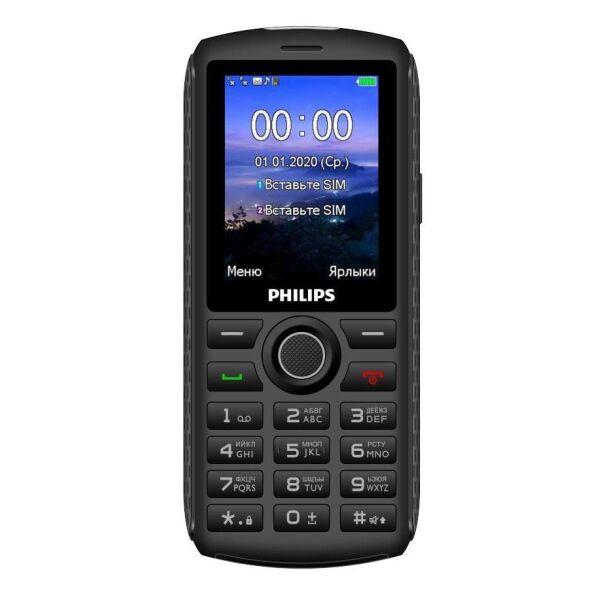 Мобильный телефон Philips Xenium E218 (серый)