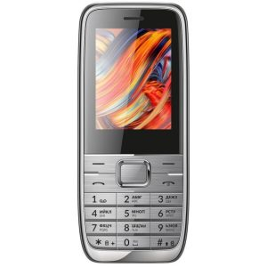 Мобильный телефон Vertex D533 (серебристый)
