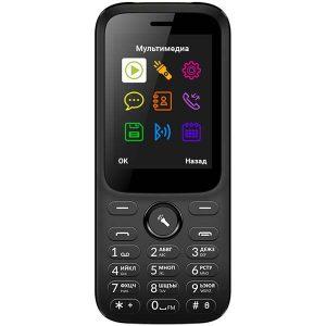 Мобильный телефон Vertex D555 черный
