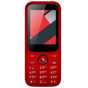 Мобильный телефон Vertex D555 красный
