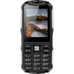 Мобильный телефон Vertex K213 (черный/серебристый)