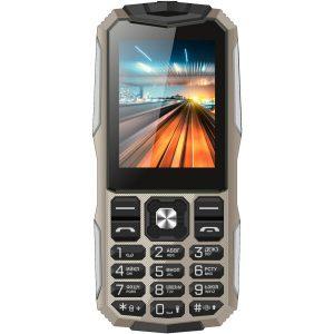 Мобильный телефон Vertex K213 (песочный/серебристый)