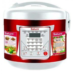 Мультиварка SATURN ST-MC9208 красный