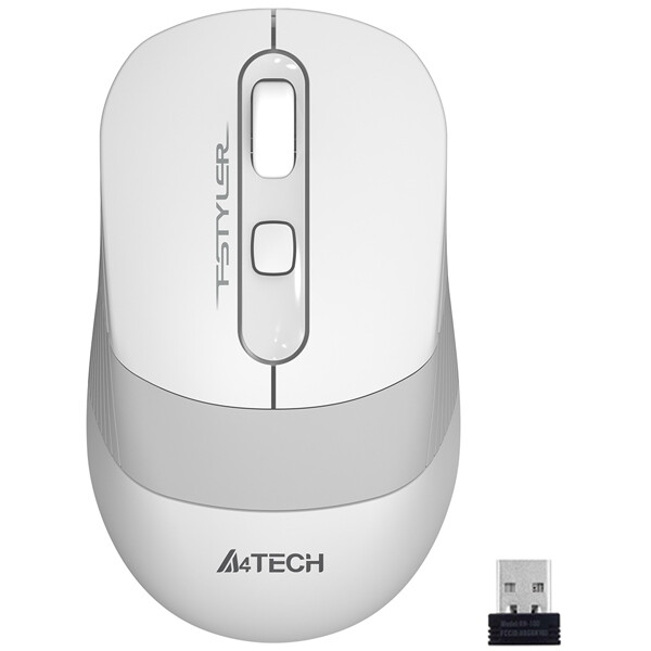 Мышь A4TECH FSTYLER FG10 (WHITE)