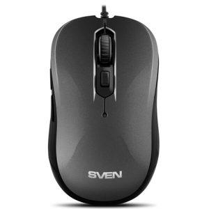 Мышь проводная SVEN  RX-520S серая