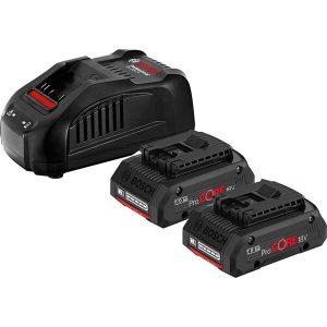 Набор аккумуляторов для электроинструмента Bosch ProCORE 18V 4 Ah с зарядным GAL 1880 C Professional 1.600.A01.6GF