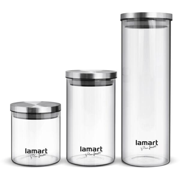 Набор баночек для сыпучих продуктов Lamart Peut LT6025