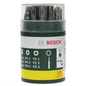 Набор бит Bosch 2607019454 (10 предметов)