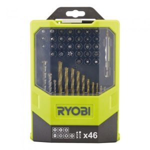 Набор бит и сверл Ryobi RAK46MiX (5132002686) 46 предметов