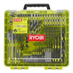 Набор бит и сверл Ryobi RAKDD100 (5132004666) 100 предметов