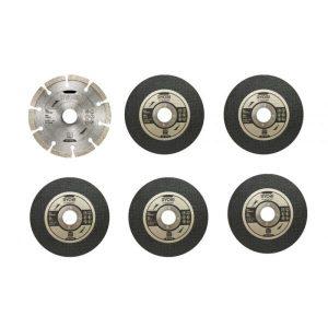 Набор дисков Ryobi RAK6AGD125 (5132003149) 6 предметов