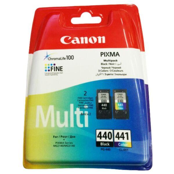 Набор картриджей CANON MULTIPACK PG-440 + CL-441