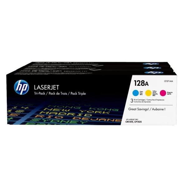 Набор катриджей HP 128A (CF371AM)