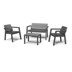 Набор мебели Keter Emily 2 Seater (графит)