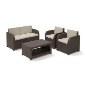 Набор мебели Keter Modena Set (коричневый)