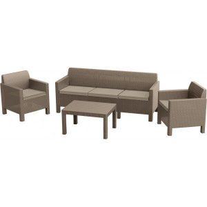 Набор мебели Keter Orlando 3 Set (капучино)