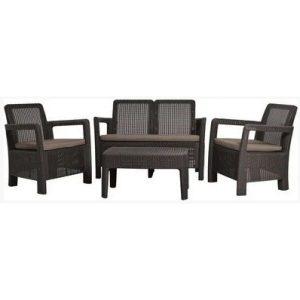 Набор мебели Keter Tarifa Set (коричневый)