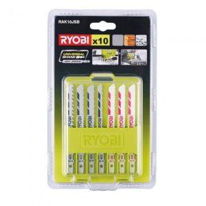 Набор пилок Ryobi RAK10JSB (5132002702) 10 предметов