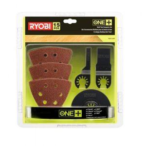 Набор принадлежностей для многофункционального инструмента Ryobi RAK15MT (5132002809) 15 предметов