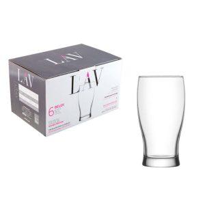 Набор стаканов для пива LAV серия Belek LV-BLK374F