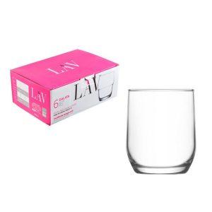 Набор стаканов для виски LAV серия Sude LV-SUD15F