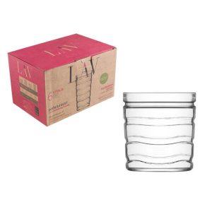 Набор стаканов для виски LAV  серия Vitalis (LV-VTL651F)