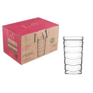 Набор стаканов LAV серия Vitalis (LV-VTL671F)