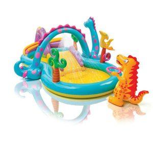 """Надувной бассейн Intex """"Планета динозавров"""" 57135NP"""