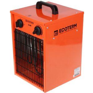 Нагреватель воздуха электрический Ecoterm EHC-03/1E