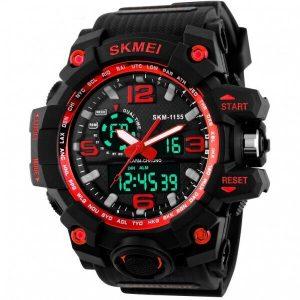 Наручные часы Skmei 1155 (черно-красный)