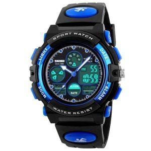 Наручные часы Skmei 1163 (черно-синий)