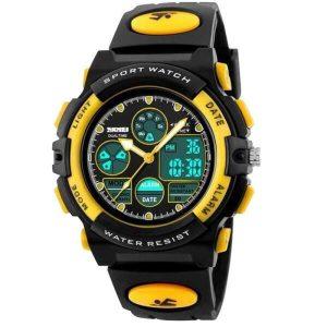 Наручные часы Skmei 1163 (черно-желтый)