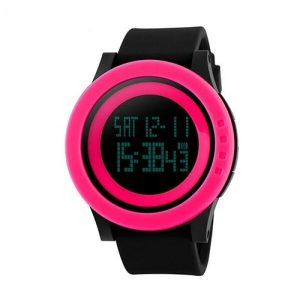 Наручные часы Skmei 1193 (черный/розовый)