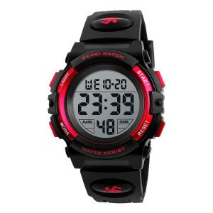 Наручные часы Skmei 1266 (черный/красный)