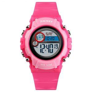 Наручные часы Skmei 1477 (красно-розовый)