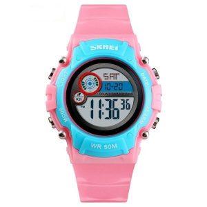 Наручные часы Skmei 1477 (розово-синий)