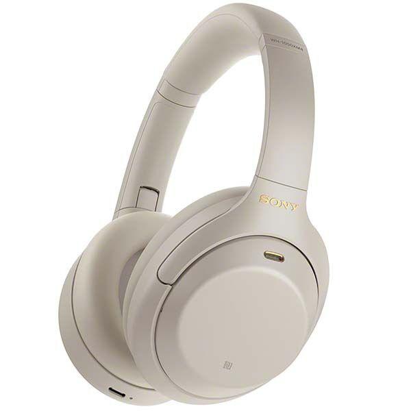 Наушники с микрофоном Sony WH-1000XM4 (серый)