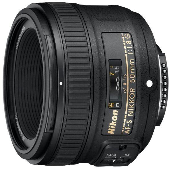 Объектив NIKON AF-S Nikkor 50mm f/1.8G