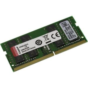 Оперативная память Kingston ValueRAM 16GB DDR4 SODIMM PC4-21300 KVR26S19D8/16