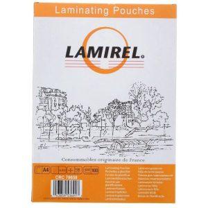 Пленка для ламинирования Fellowes Lamirel A4 100 мкм LA-78658