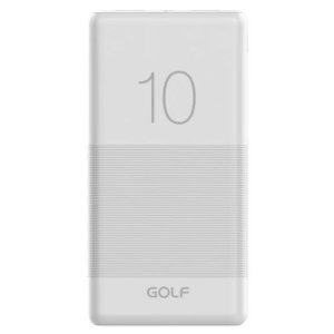 Портативное зарядное устройство Golf G80 (белый)