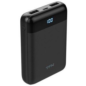 Портативное зарядное устройство TFN Mini LCD 10000mAh (черный)