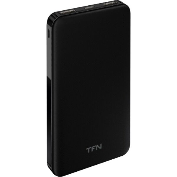 Портативное зарядное устройство TFN Slim Duo 10000 mAh (черный)
