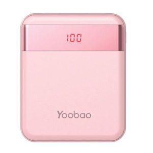 Портативное зарядное устройство Yoobao M4 Pro (розовый)