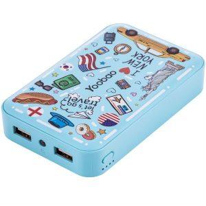 Портативное зарядное устройство Yoobao M5 (голубой