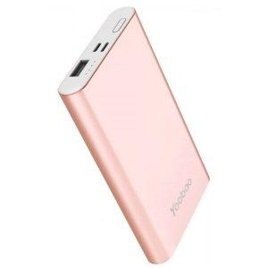 Портативное зарядное устройство Yoobao PL10 (розовое золото)