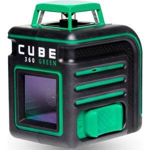 Построитель лазерных плоскостей (лазерный уровень) ADA Cube 360 Green Ultimate Edition (А00470)