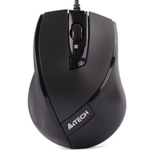 Проводная мышь A4Tech N-600X-1 Black